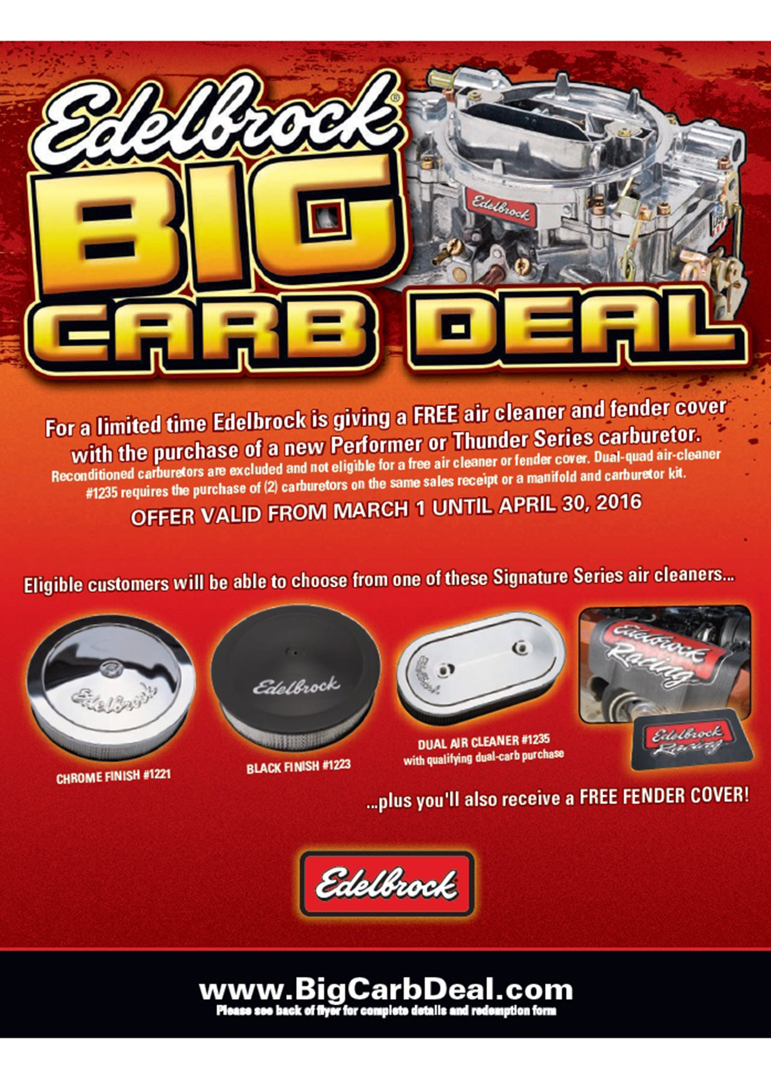 Edelbrock Big Carb Deal 03