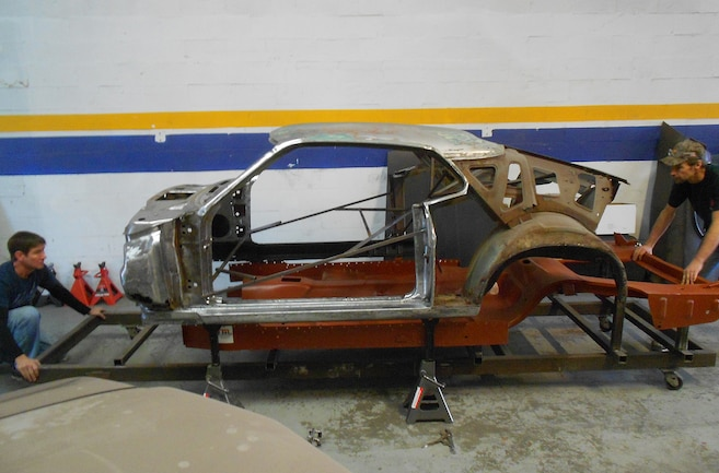 One Piece Replacement Floorpan