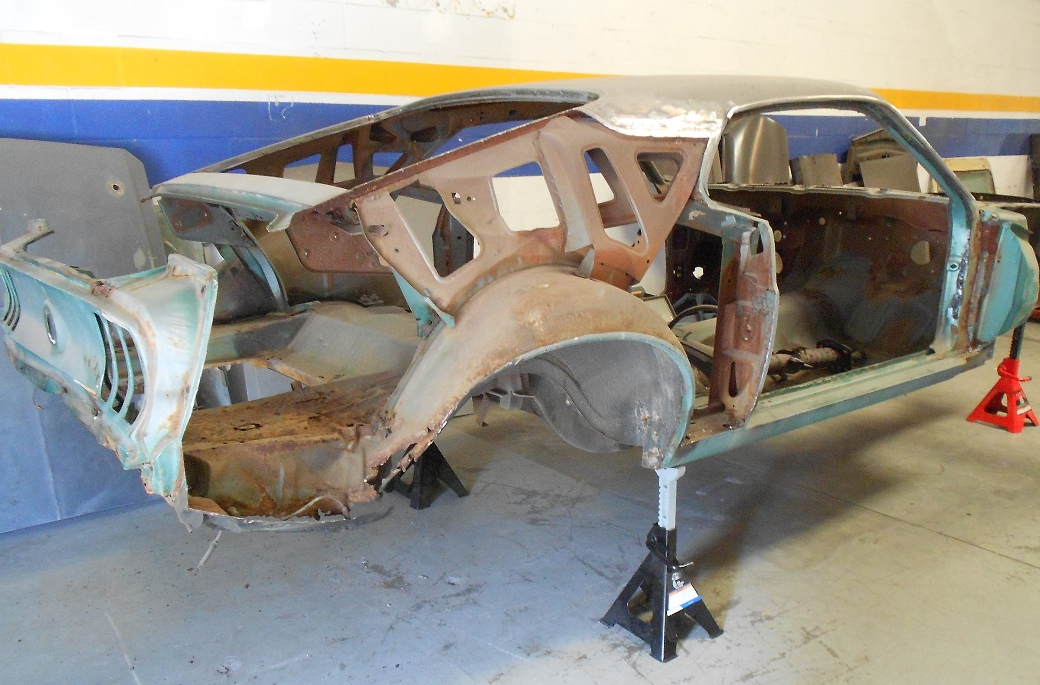 1969 Ford Mustang Sportsroof Quarter Panels Removed