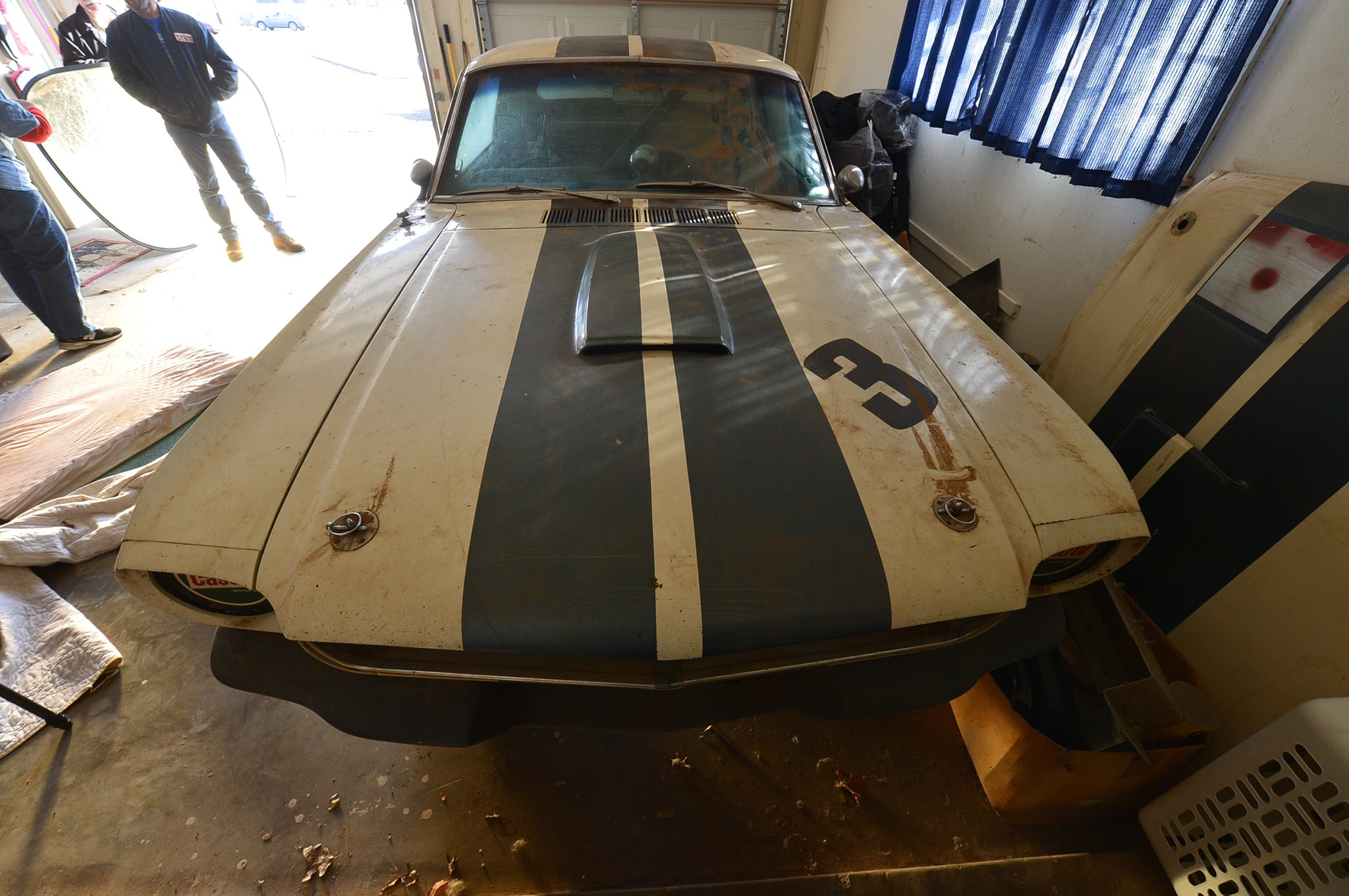5 1966 Ford Mustang Front View