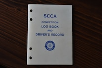 15 Scca Competition Log Book