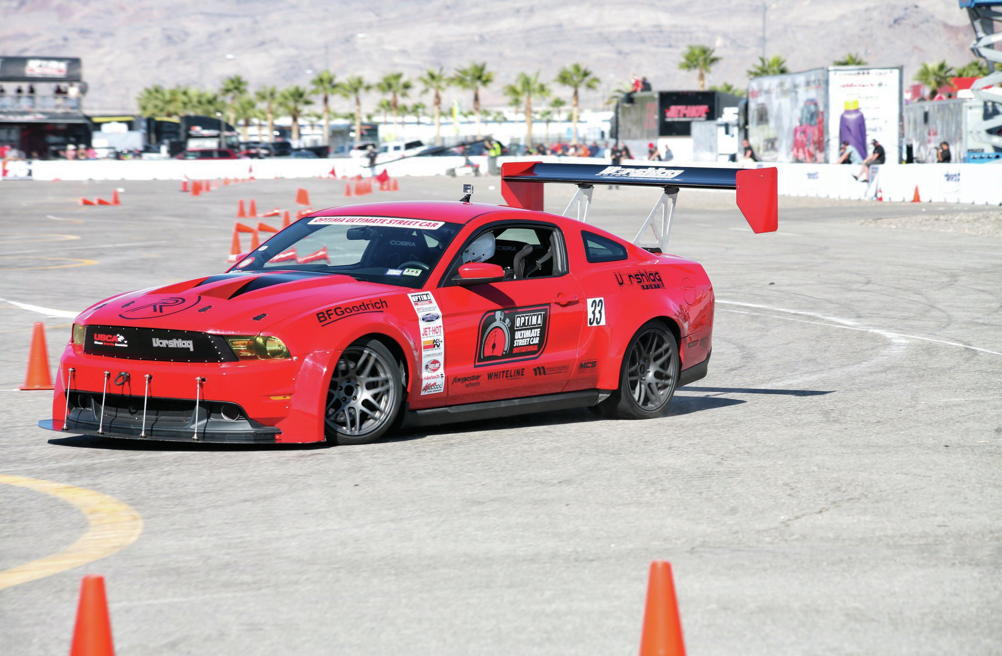 2014 Optima Ultimate Street Car Invitational Ousci Ford Mustang Terry Fair