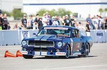 2014 Optima Ultimate Street Car Invitational Ousci Ford Mustang Blue