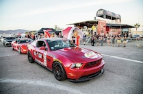 2014 Optima Ultimate Street Car Invitational Ousci Ford Mustang Umbrella Girls