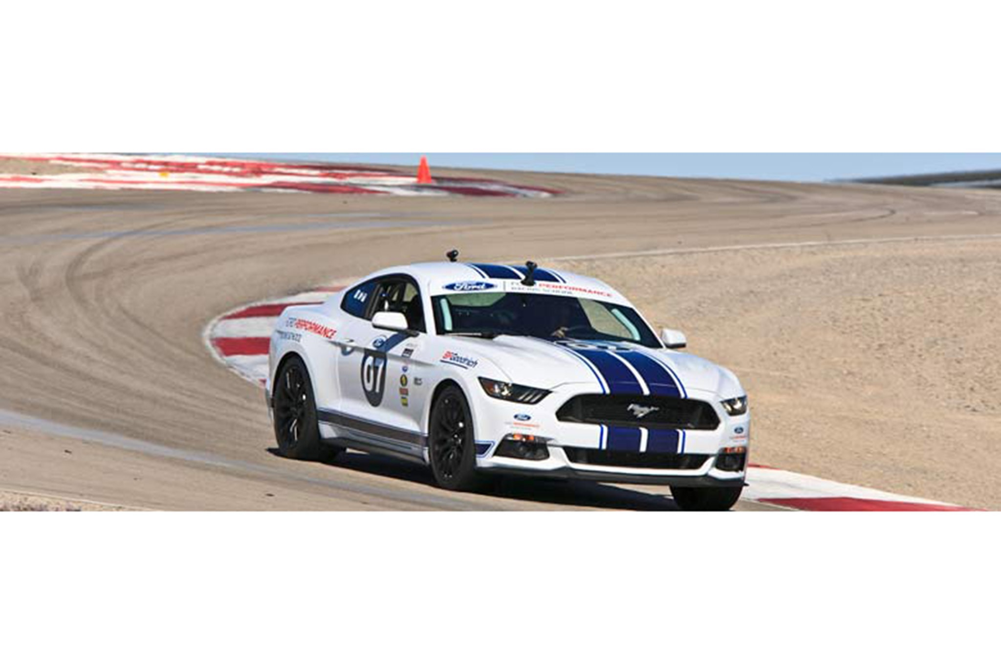 Shelby Mustang Gt350 Track 004