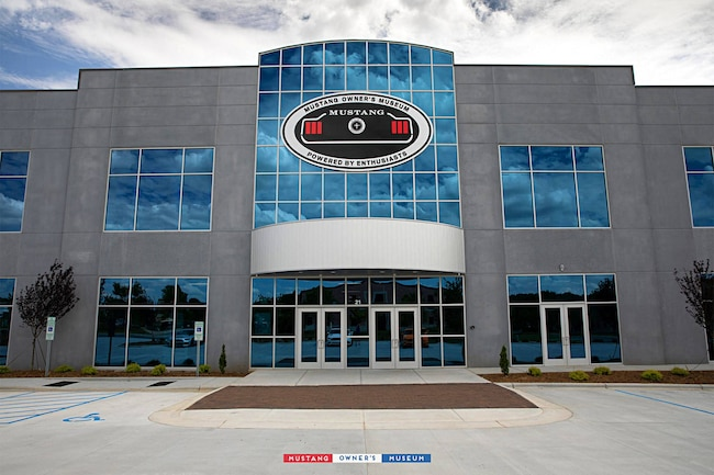 001 Mustang Owners Museum Exterior 1