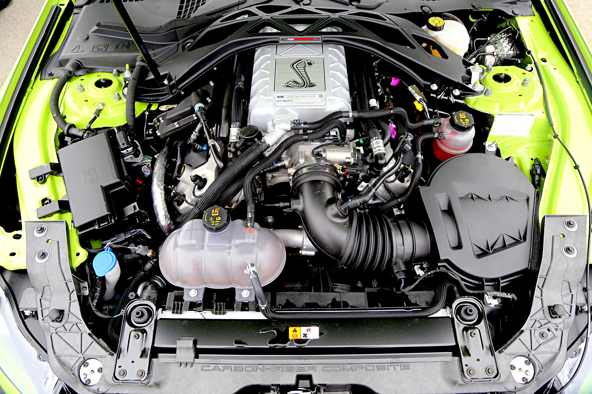 004 2020 Shelby GT500 Engine