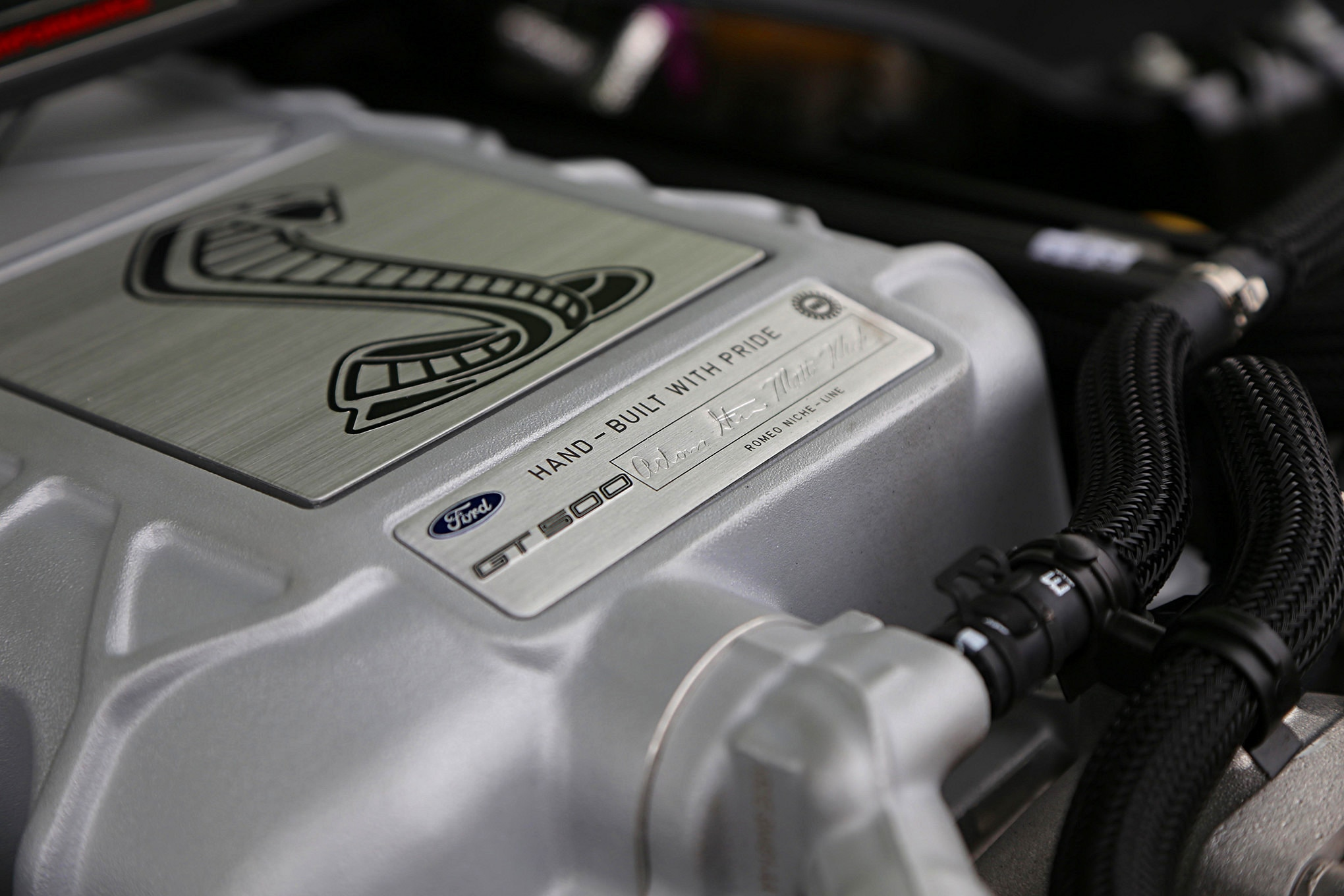 006 2020 Shelby GT500 Engine