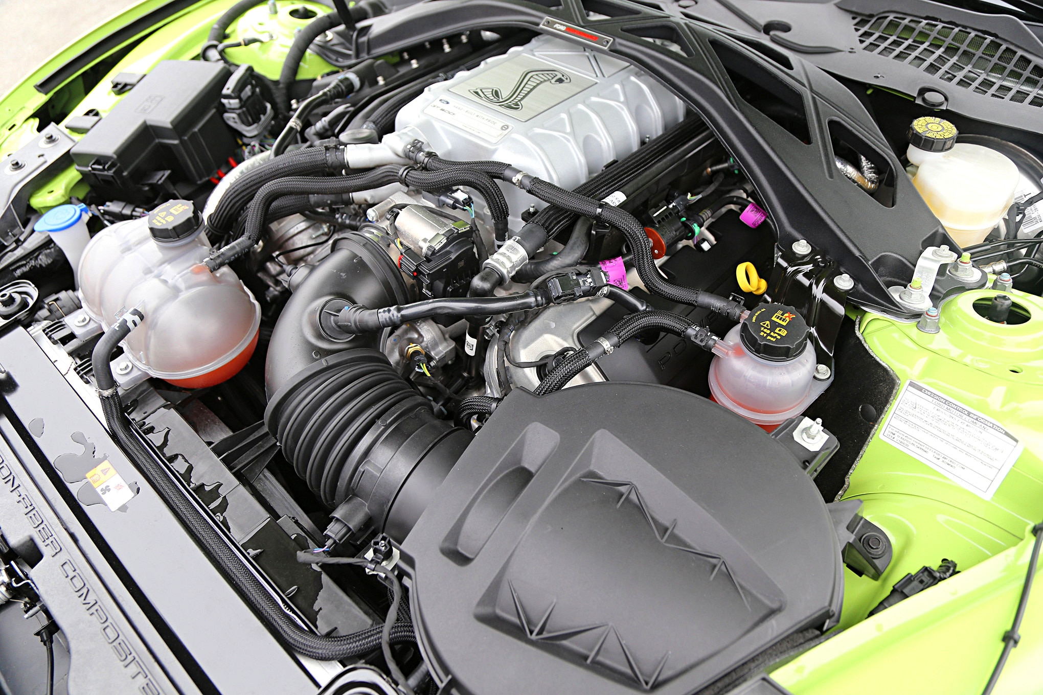 009 2020 Shelby GT500 Engine