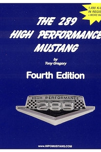 01 289 High Performance Mustang Book 1