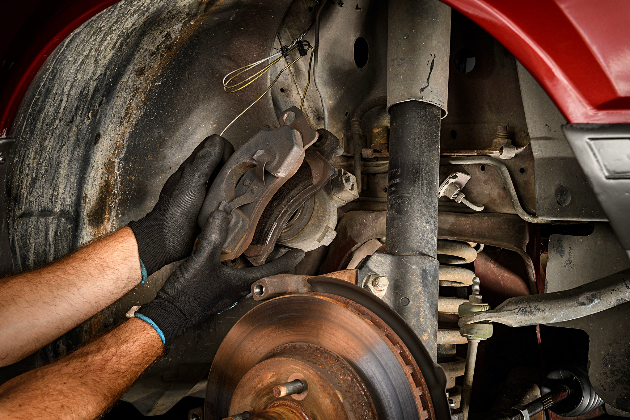 010 Mustang Front Brake Caliper Removal