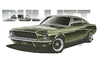02 Design Factory Art 1968 Ford Mustang Bullitt