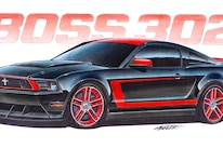 04 Design Factory Art 2012 Ford Mustang Boss 302 Laguna Seca