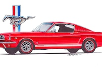 07 Design Factory Art 1965 Mustang GT Fastback