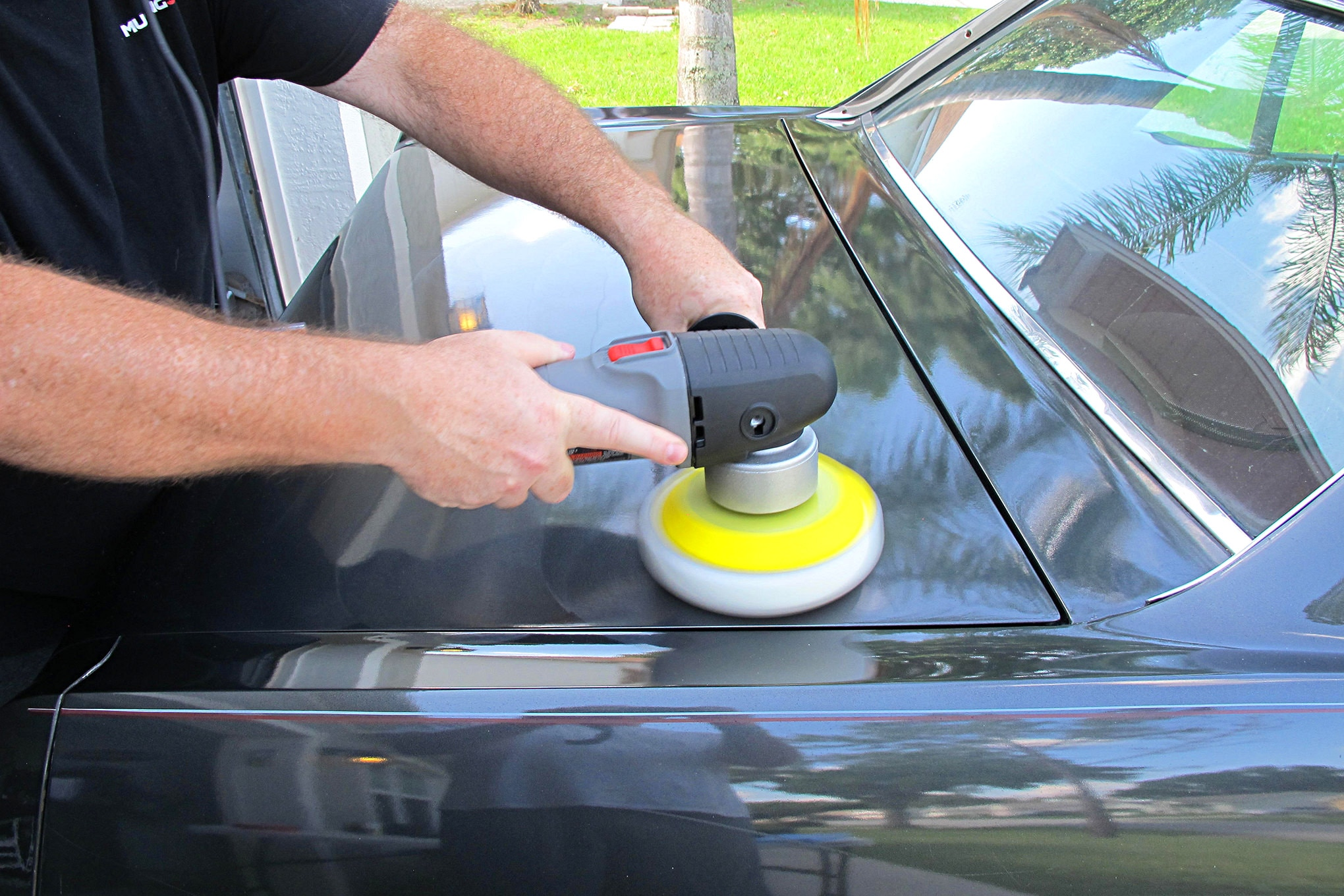 08 Chadwicks Triple Play Paint Correction System Buffing With Pad 2