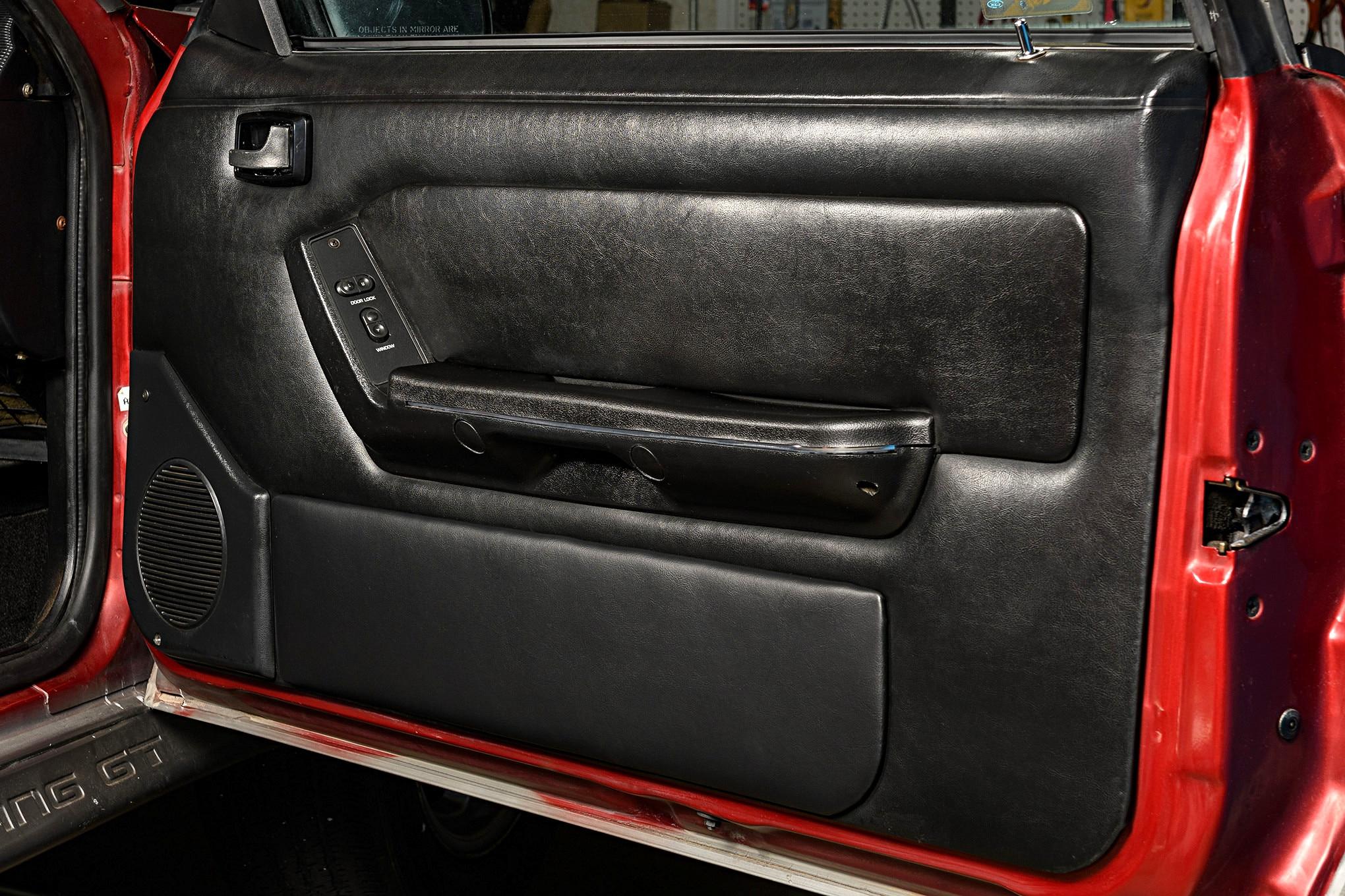 001 Mustang Door Panel Finished Black