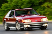 001 Mustang Turning Steeda Suspension