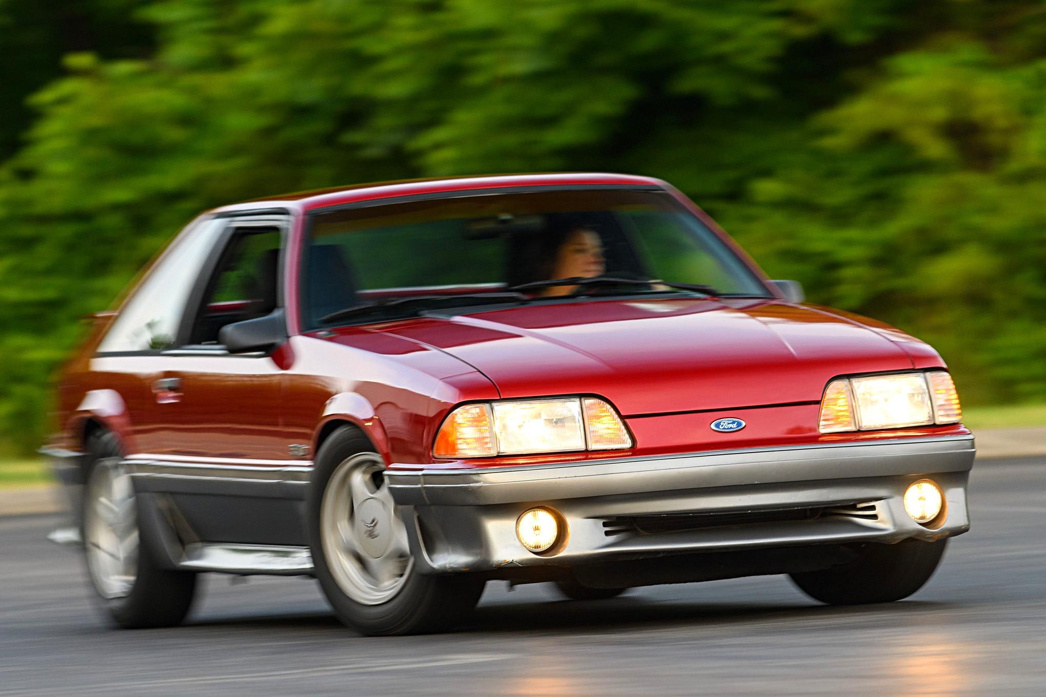 001 Mustang Turning Steeda Suspension
