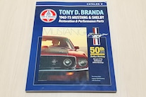 01 Tony Branda Mustang Parts Catalog Cover