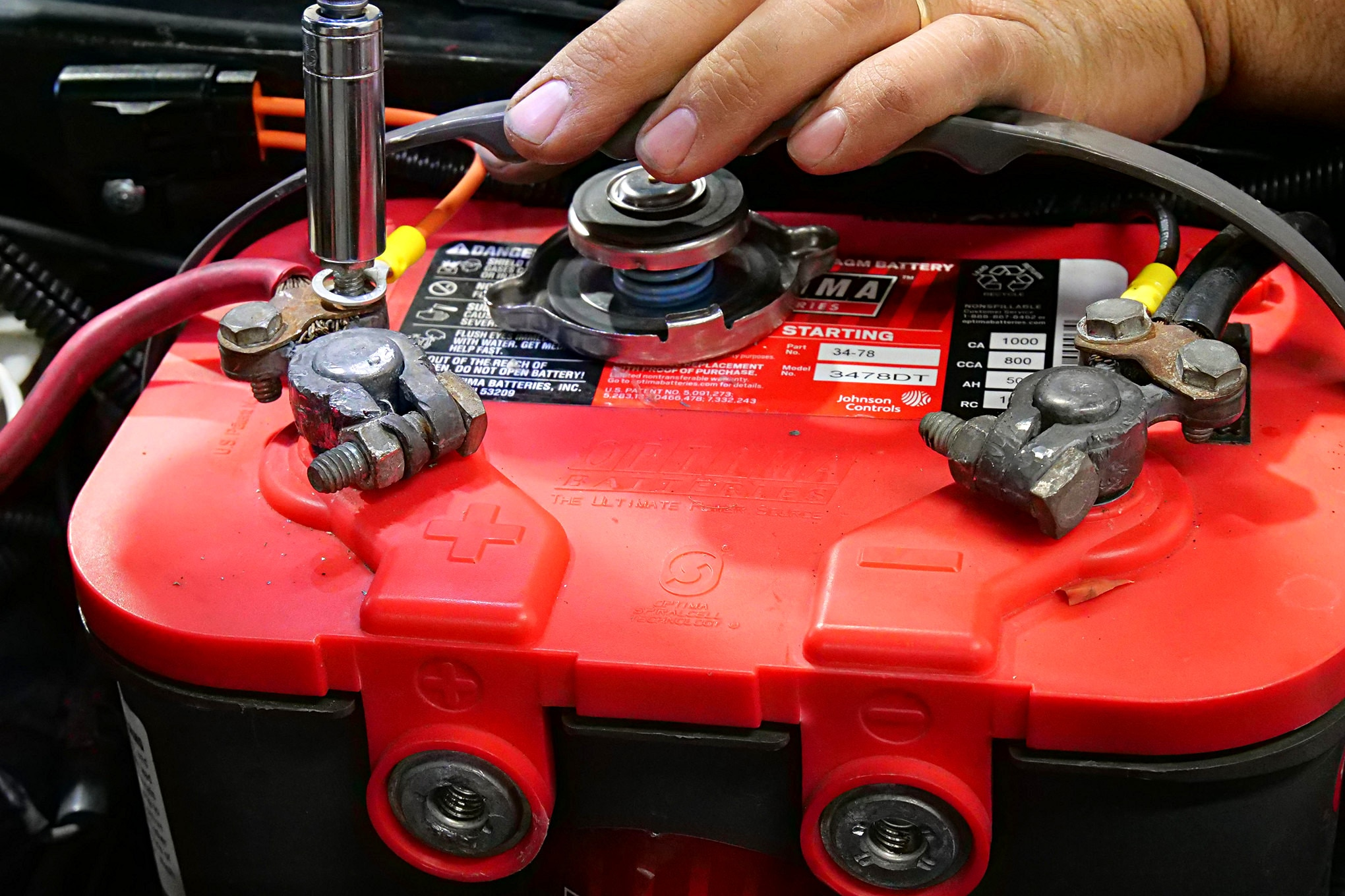 017 Mustang Battery Terminal Fan Wiring