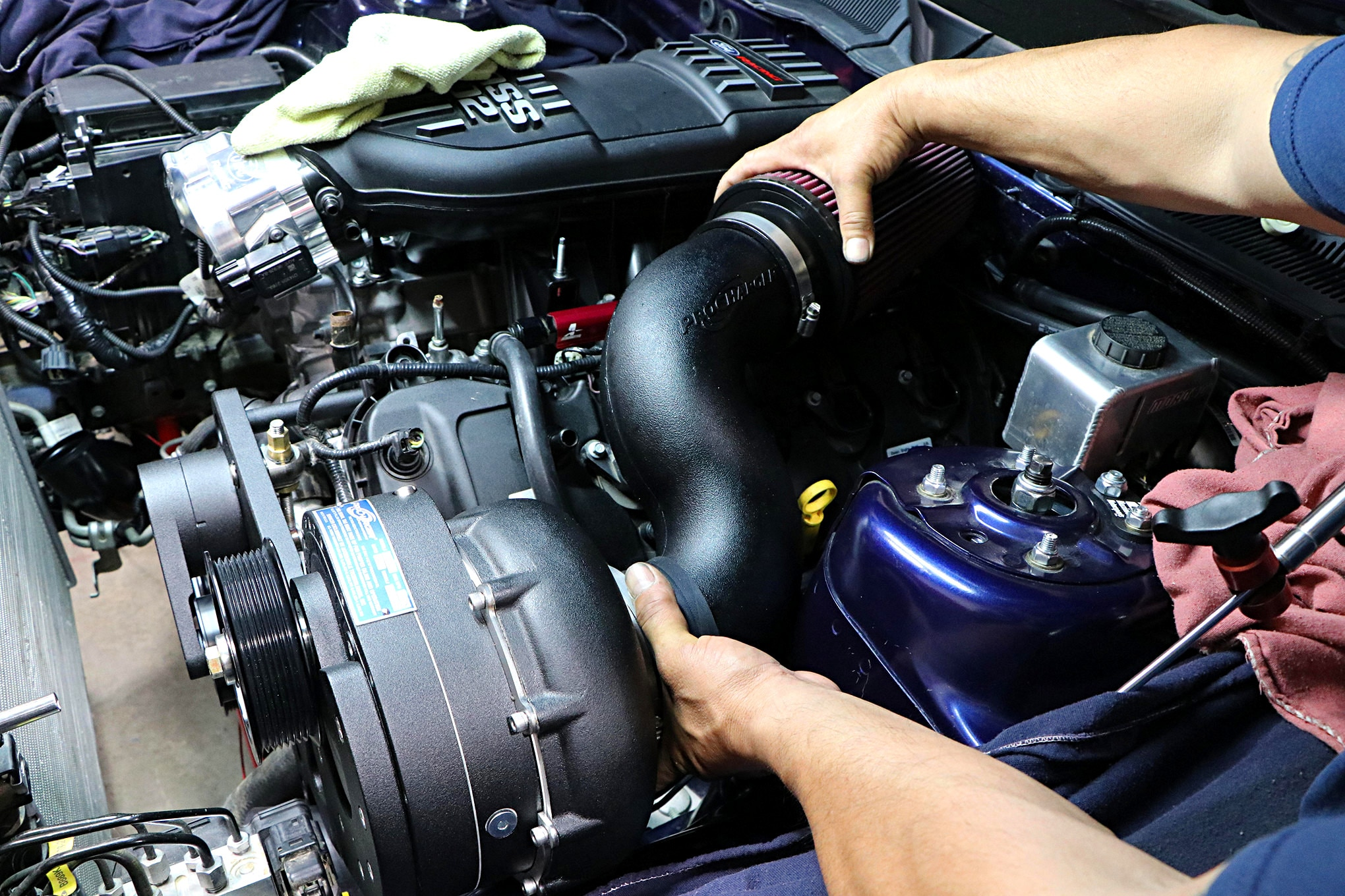 017 Mustang Procharger Supercharger Inlet Tubing