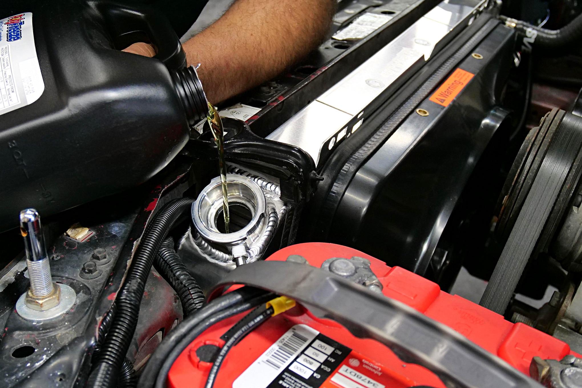 018 Mustang Flex A Lite Radiator Fan Coolant