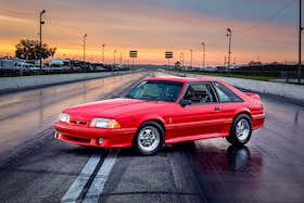 Trophy Stock Champion Bruce Winn's 1993 Mustang Cobra