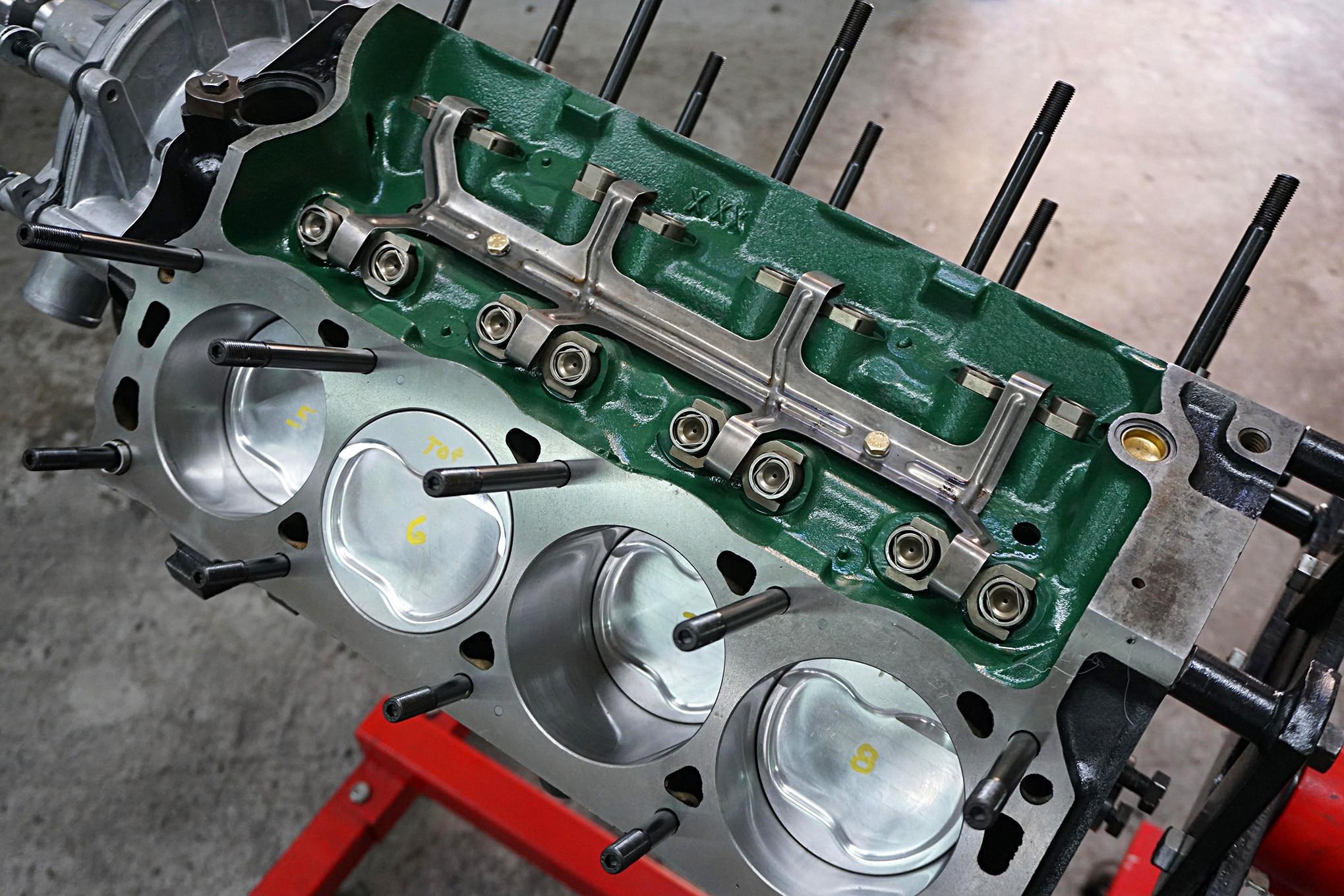 001 Mustang 347 Top Build 1