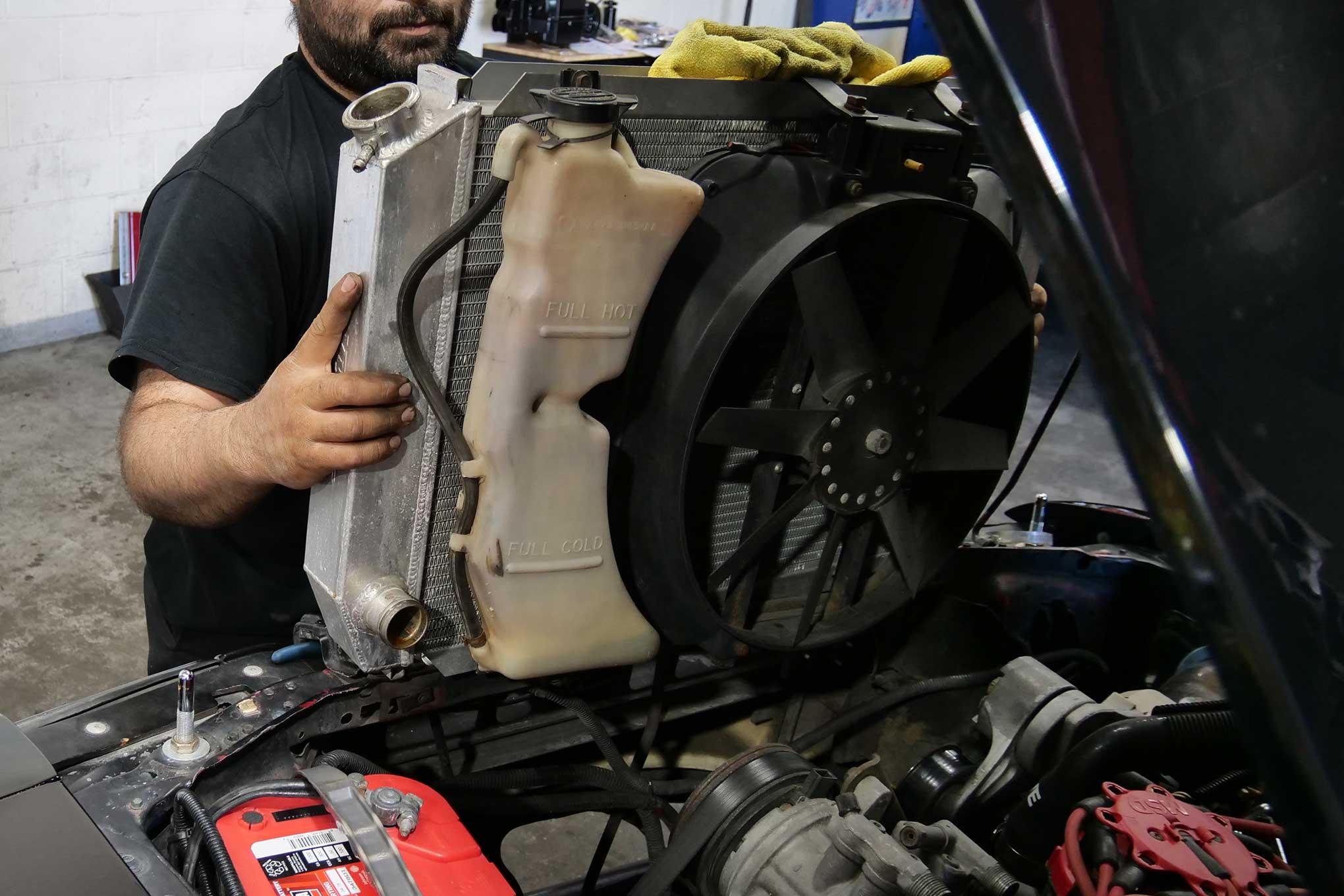 004 Mustang Flex A Lite Radiator Fan