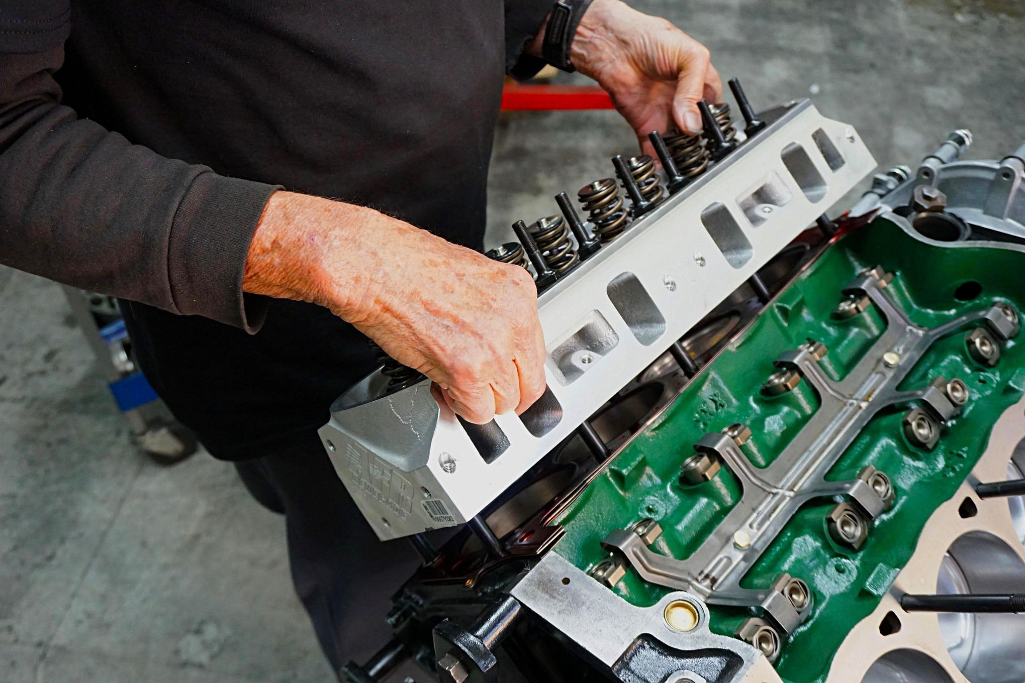 007 Mustang 347 Top Build 1