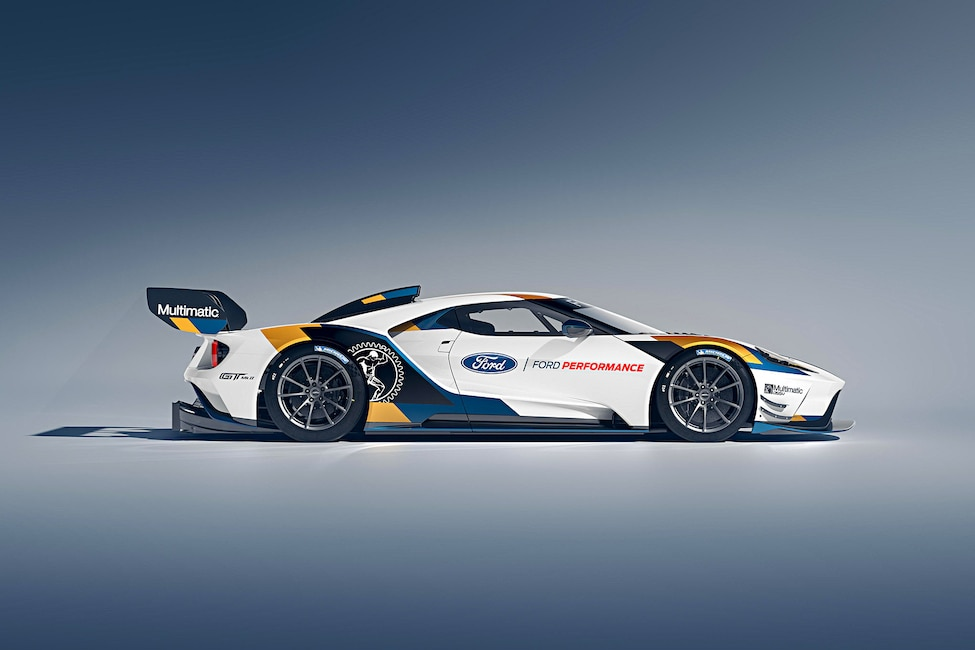 015 Ford GT MKII Goodwood Announcement