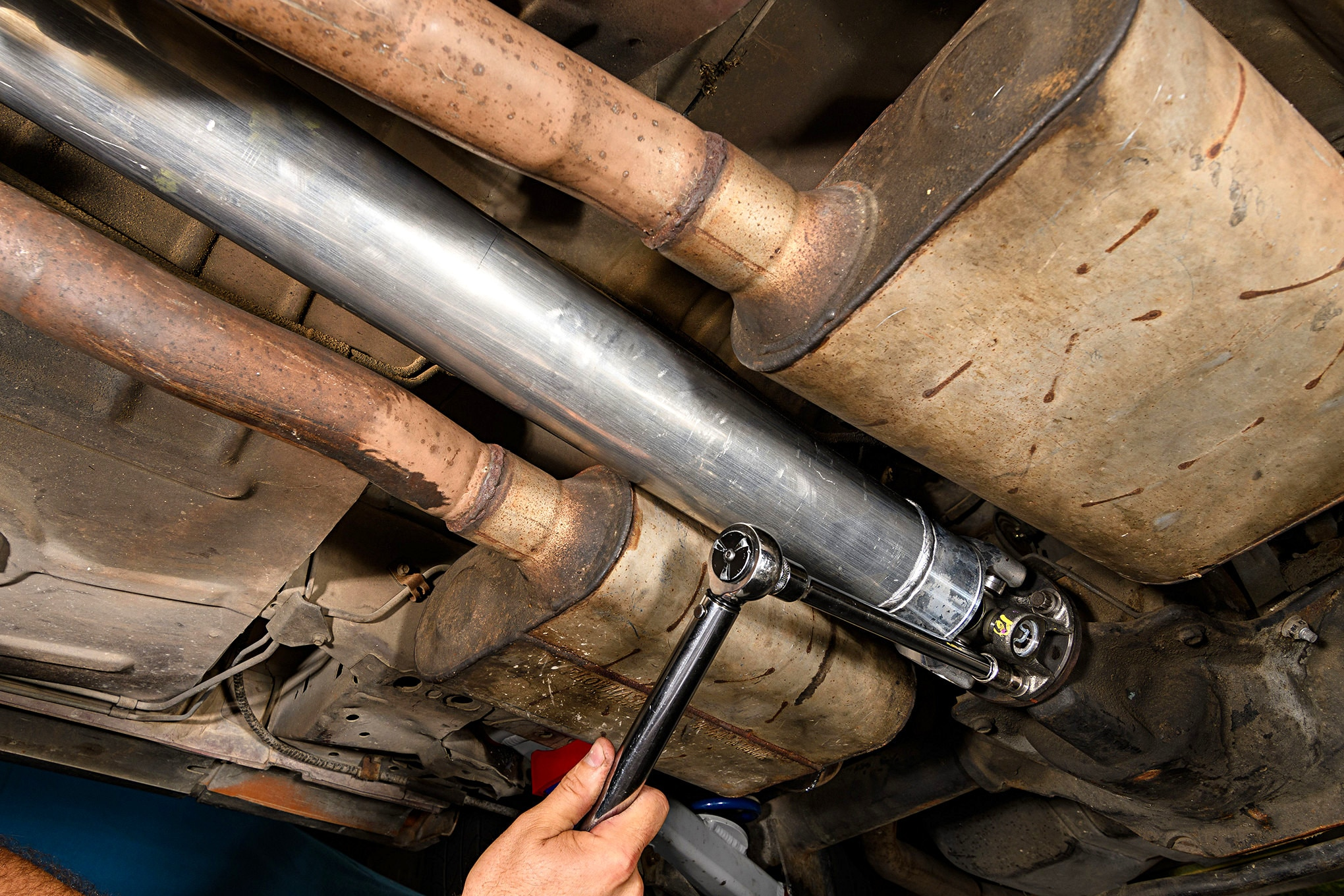 015 Mustang Ford Performance Parts Aluminum Driveshaft