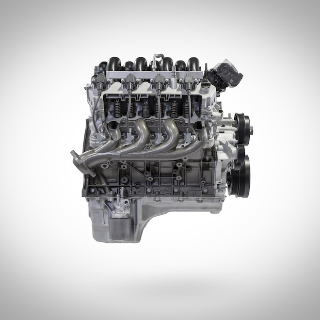Ford S 7 3 Liter Godzilla Gas Engine Delivers 430 Horsepower Packs Monster Potential