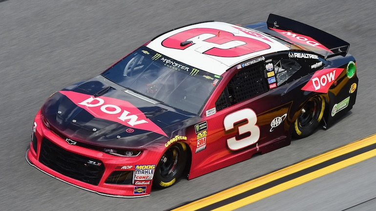 Austin Dillon Car Shot